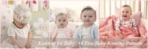 40 Free Baby Knitting Patterns