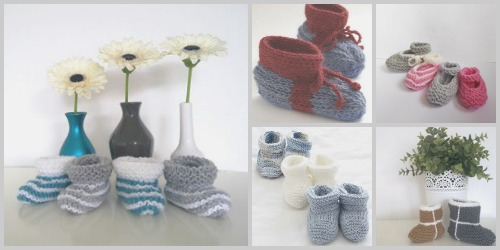 How to Knit Baby Booties: 18 Adorable Patterns
