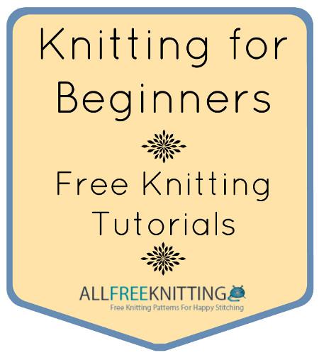 Knitting Instructions For Beginners Left Handed : Knitting for beginners a collection of free