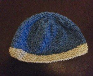 All Free Knitting Stitches : Stockinette Stitch Baby Hat AllFreeKnitting.com