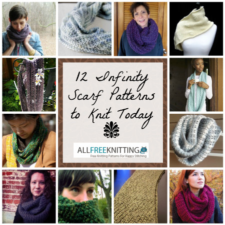 FREE KNITTING PATTERNS FOR INFINITY SCARF   KNITTING PATTERN