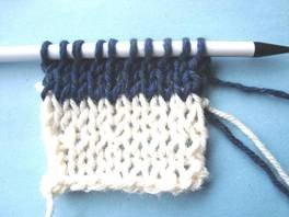 Knitting Terms - YO - How to Make a Yarn Over