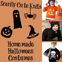 Scarily Cute Knits: 20 Homemade Halloween Costumes for Kids + Babies