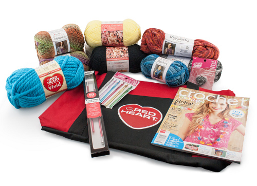 Red Heart Pinterest Prize Package