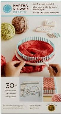 Martha Stewart Knitting Patterns : Martha Stewart Crafts Knit & Weave Loom Kit ...
