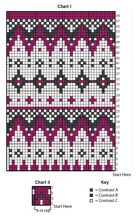 Fair Isle Patterns For Knitting : Fantastic Fair Isle Stocking AllFreeKnitting.com