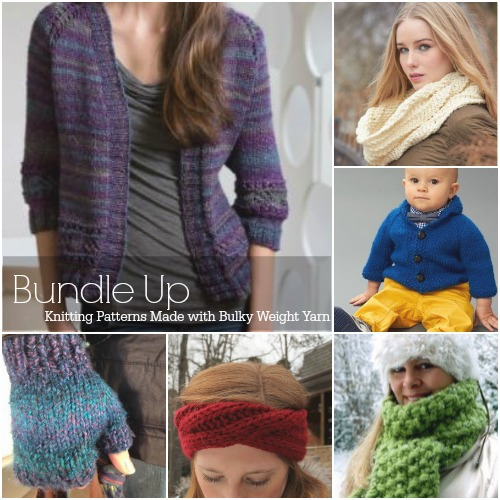 Free Crochet Patterns Using Bulky Weight Yarn : Bundle Up: 35 Free Knitting Patterns Made with Bulky ...