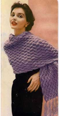 Vintage Shawl Knitting Patterns : 13 Vintage And Free Shawl Knitting Patterns # 2016 Car Release Date