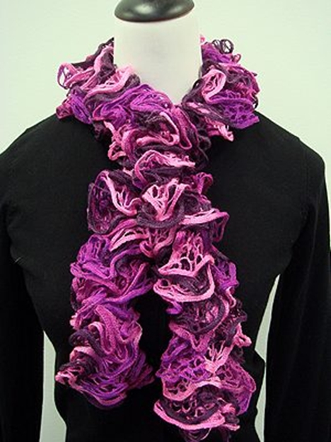 The Best Light & Lacy Knit Scarf Patterns: 7 Free Scarf Patterns for You ...