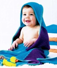 Free Sewing Pattern and Instructions on How to Make a Baby Hooded