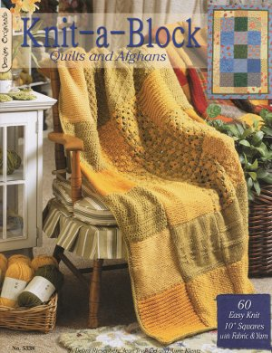Knitted Quilt Block Patterns : KNITTED FOOT QUILT PATTERN BLOCK 1000 Free Patterns