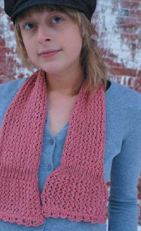 Cruise Dreaming of Spring Scarf | AllFreeKnitting.