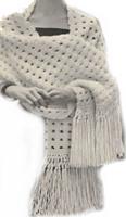 Free Knitting Patterns For Vintage Shawls : 13 Vintage and Free Shawl Knitting Patterns AllFreeKnitting.com
