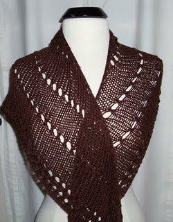 An Easy Shawl to Knit