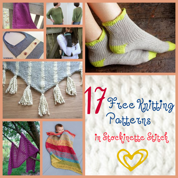 Stockinette Knitting Stitches Instructions : Different Knitting Stitches: 146 Patterns for Garter, Seed, Cable, and More ...