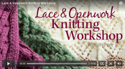 Online Knitting Workshop Giveaway