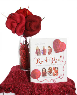 Knit Red and Jimmy Beans Wool Yarn Bouquet