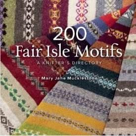 Free Knitting Pattern 70735AD Fair Isle Snowflake Ornament
