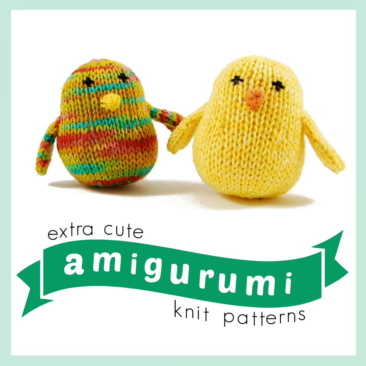 15 Extra Cute Amigurumi Knit Patterns AllFreeKnitting.com