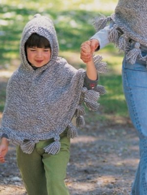 Favorite Fall Poncho - Kids' Version