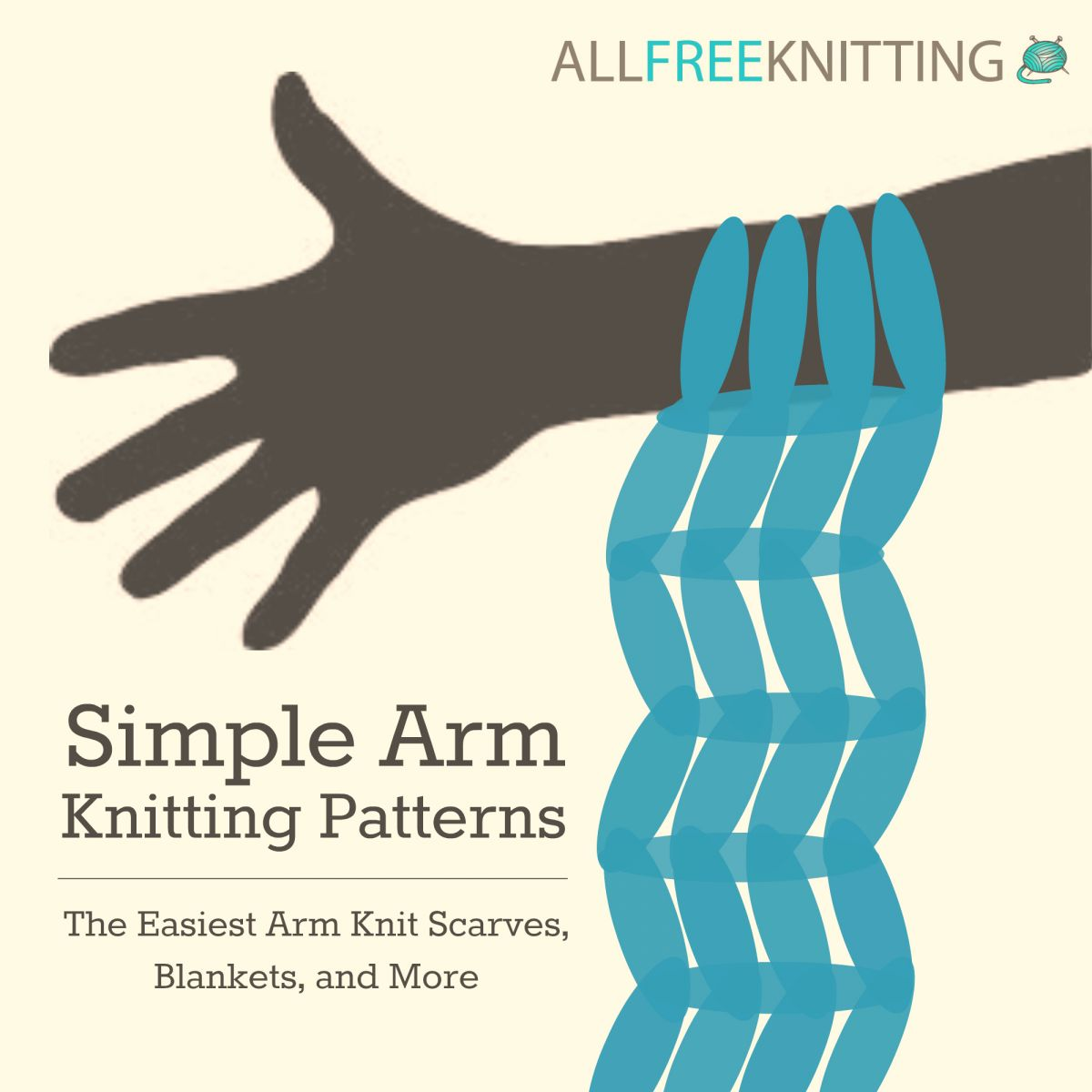 how to arm knit arm knitting tutorials and patterns