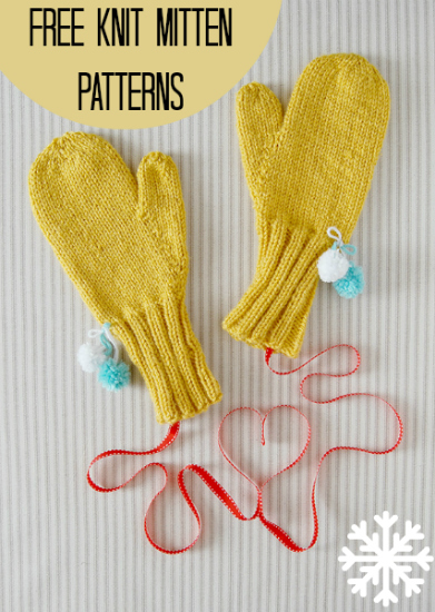 All Free Patterns Knitting : 31 Free Knit Mitten Patterns AllFreeKnitting.com