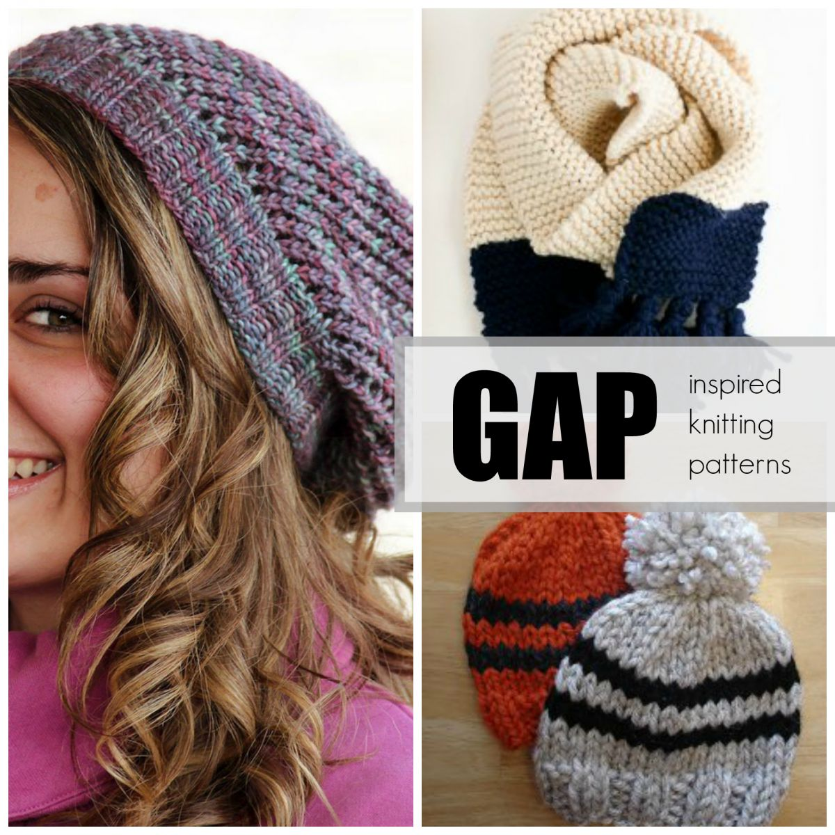 Knitting Patterns For Names : DIY Fashion Projects: 36 Easy Knitting Projects Inspired ...